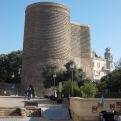 Baku látkép - Maiden Tower