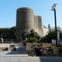 Baku látkép - Maiden Tower 2.